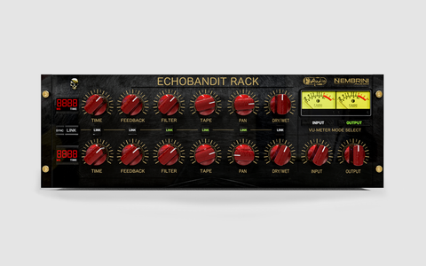 Echobandit Rack Analog Tape Echo Delay