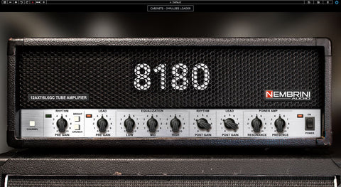 8180 Monster Tube Guitar Amplifier