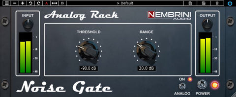 Analog Rack Noise Gate