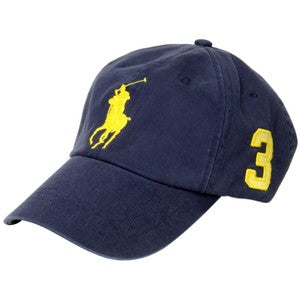 Big Pony Chino Baseball Cap - Navy