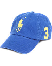 Big Pony Chino Baseball Cap - Blue
