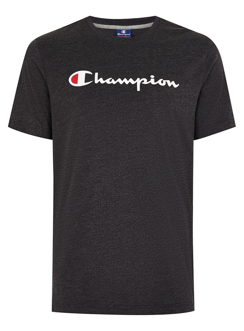 CHAMPION SCRIPT T-SHIRT - MEN'S BLACK