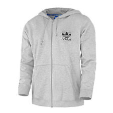 Hoodie Full Zip Jacket Sweater - Grey