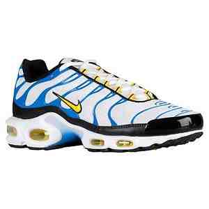 Air Max Plus White/tour yellow-pht-blue - 133