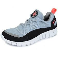 Free Huarache Light - Wolf Grey/Infrared - Black - Sport Grey