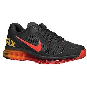 Air Max+ 2013 Dark Charcoal Red Orange 554886-068