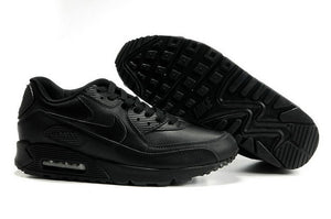 Air Max 90 Leather - Black/Black