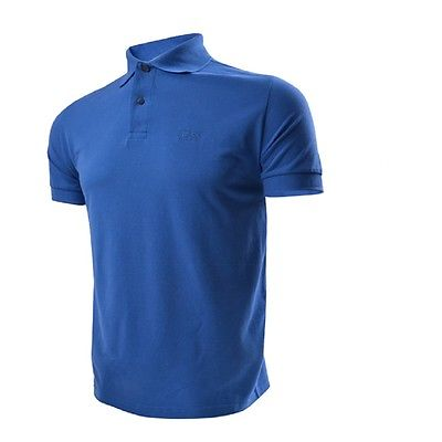 Ferno BOSS Logo Polo Tee - Blue