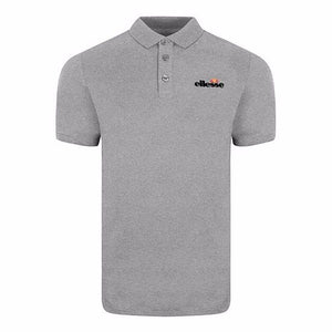 Classic Chip Short Sleeve Polo Shirts - Grey