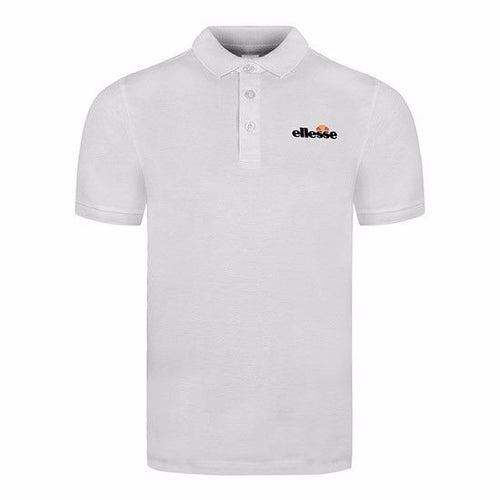 Classic Chip Short Sleeve Polo Shirts - White