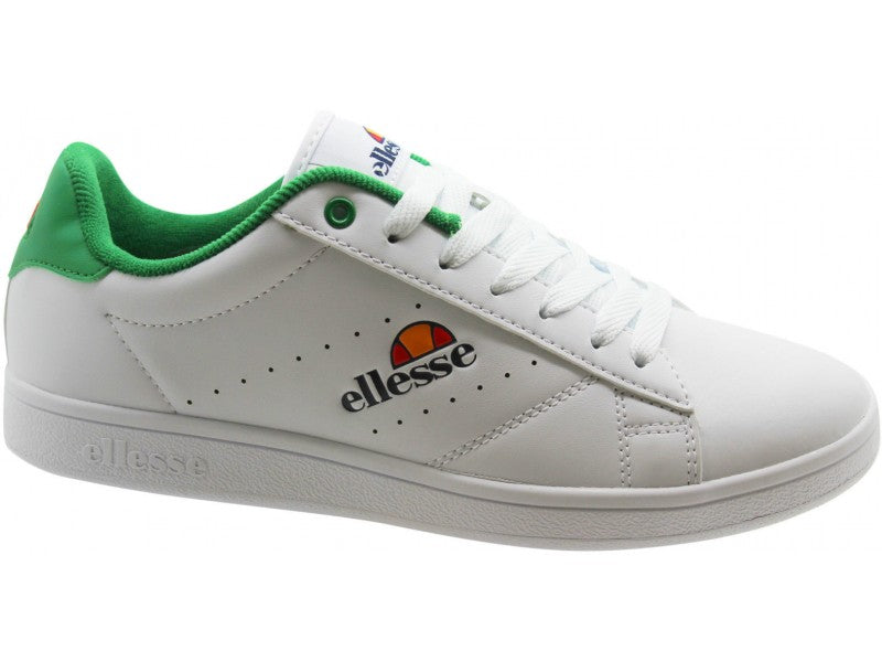 Anzia Low Mens Trainers - White/Green