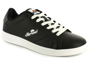 Anzia Low Mens Trainers - Black/White