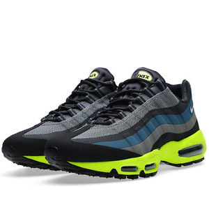 Air Max 95 No Sew Base Grey Volt Blue 616190-007