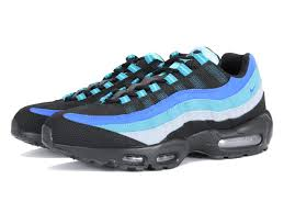 AIR MAX 95 BLACK / HYPER COBALT 609048-084