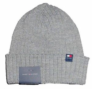 Cuffed Men's Beanie Winter Hat - Grey