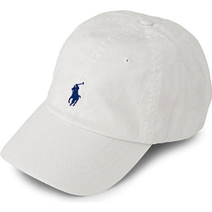 Baseball cap - white - one size