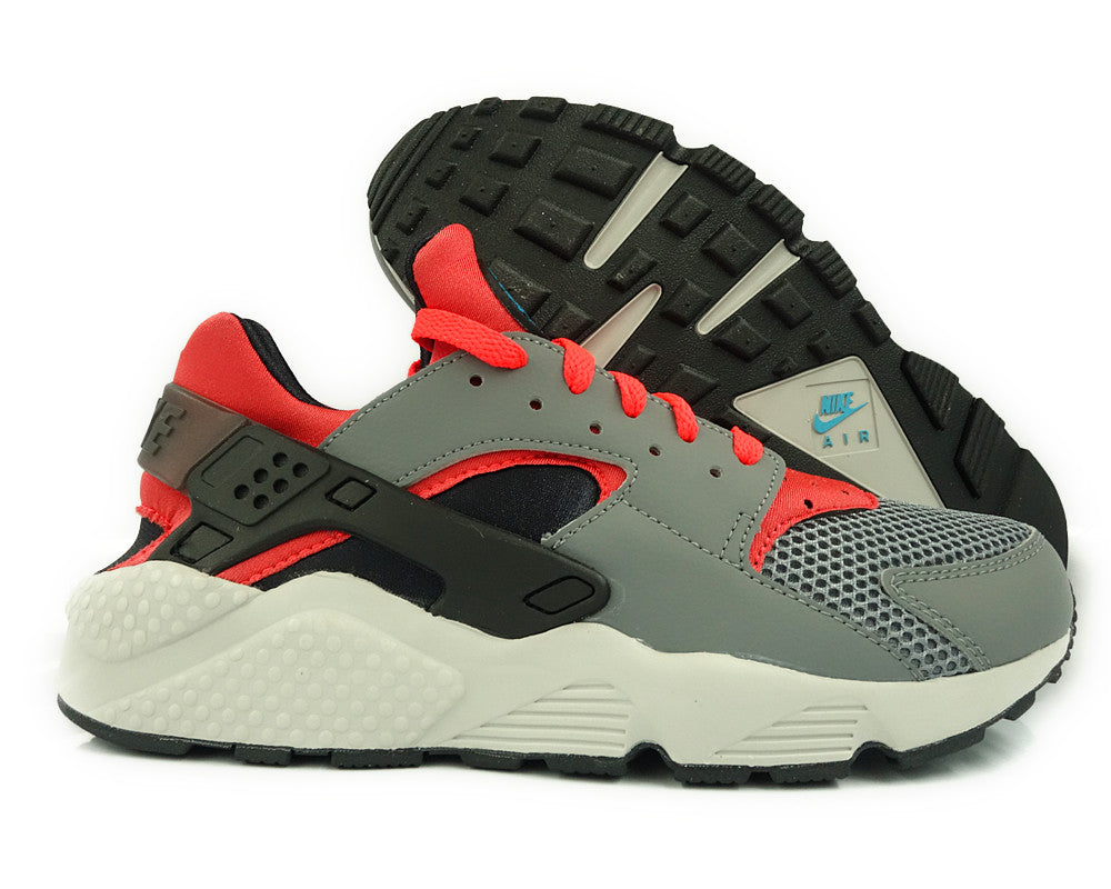 AIR HUARACHE CL GREY/BRGHT CRMSN-BLK