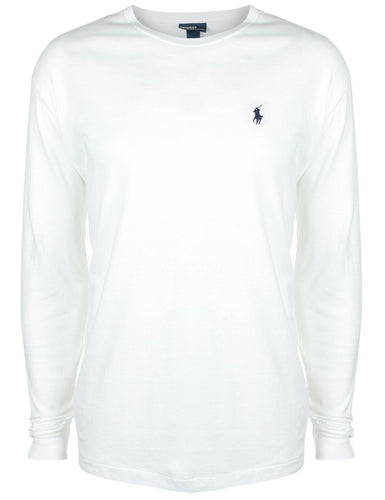 Classic long sleeve tee - White - classic fit