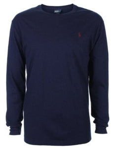 Classic long sleeve tee - Navy - classic fit