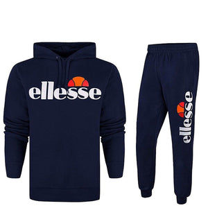 Fleece Full Tracksuit Hooded - Navy