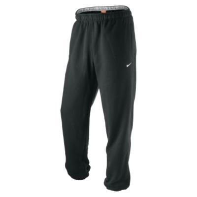 Fleece Cuffed Jogging Bottoms - Black
