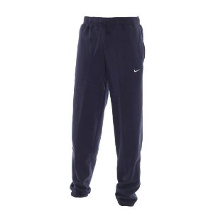 Fleece Cuffed Jogging Bottoms - Navy