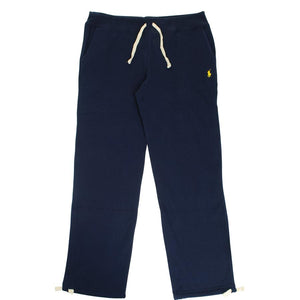 Logo jersey jogging bottoms - Navy