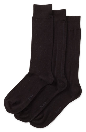 Black Dress Socks (3-pack)