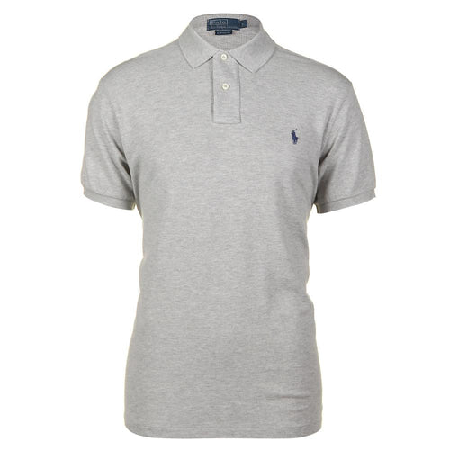 Short Sleeved classic Fit - grey polo