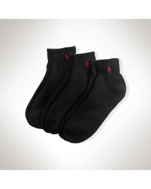 Socks Quarter Sock 4-Pack-black