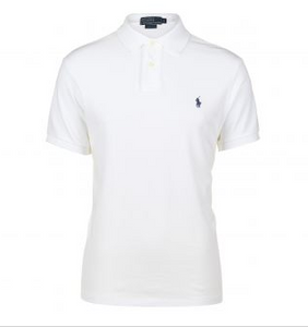 Short Sleeved classic Fit - white polo