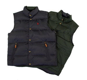 Men's reversible Gilet navy - hunter green
