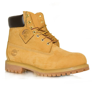 Wheat 6 Inch Premium Boot Junior - Tan