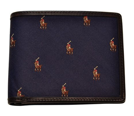 Tiller Billfold Multi Pony Logo Wallet (Navy
