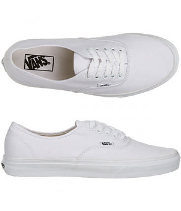 Vans - Authentic - White