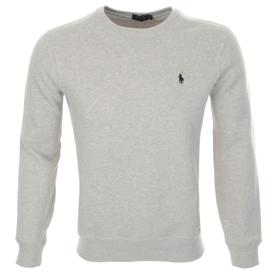 CREW NECK SWEATSHIRT - GREY