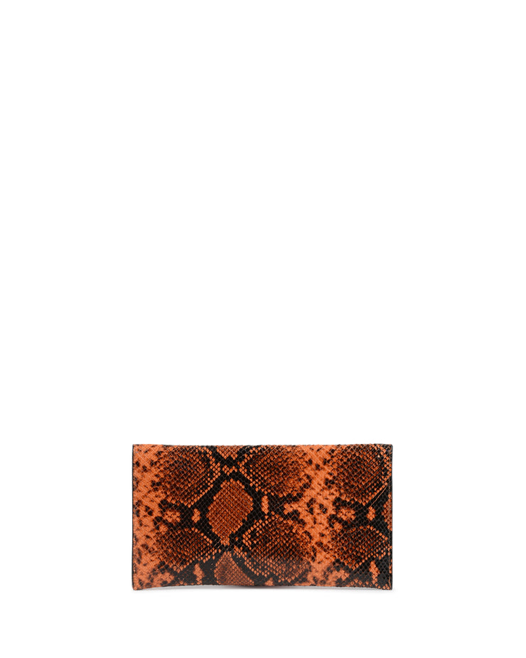 Dee Embossed Envelope Clutch