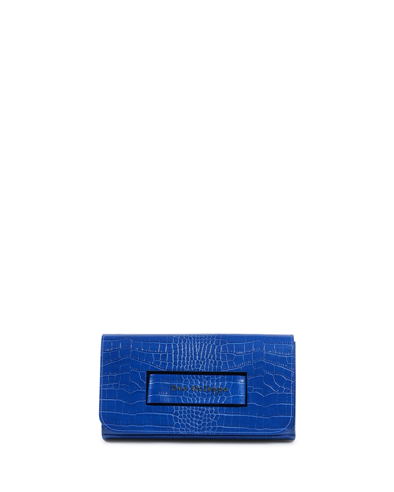 The Everything Clutch Blue