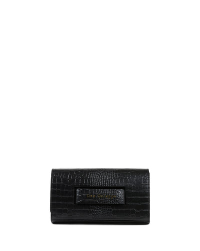 The Everything Clutch Black