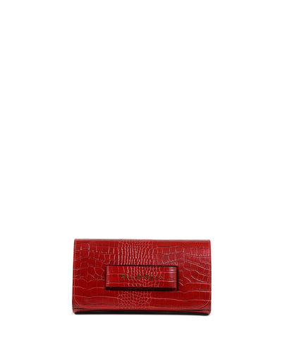 The Everything Clutch Burgundy