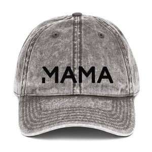 MAMA Vintage Cotton Twill Cap