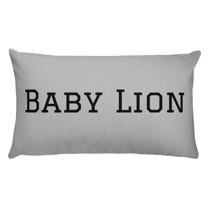 Baby Lion Pillow