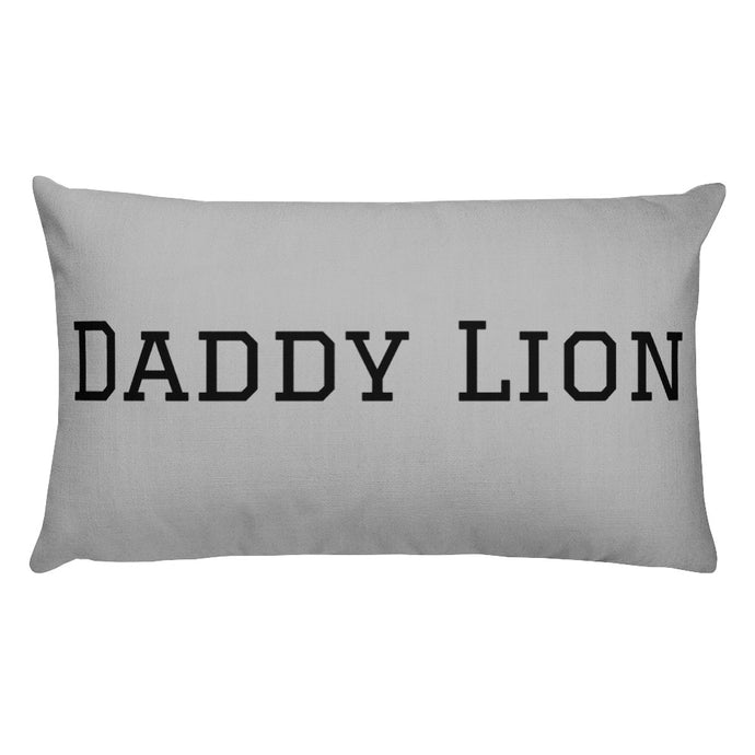 Daddy Lion Pillow
