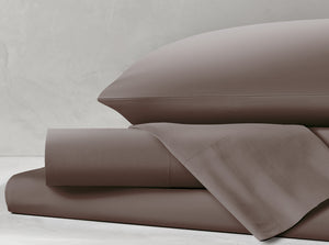 Percale Driftwood Sheet Set