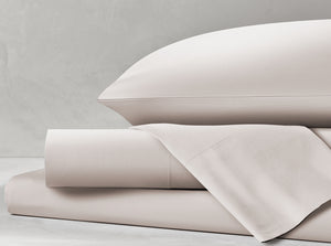 Percale White Sand Sheet Set
