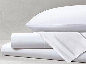 Percale White Sheet Set