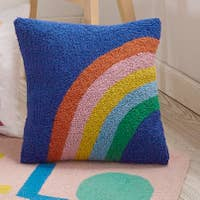 PEKING HANDICRAFT RAINBOW PILLOW