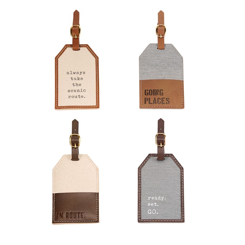 MUDPIE LUGGAGE TAG