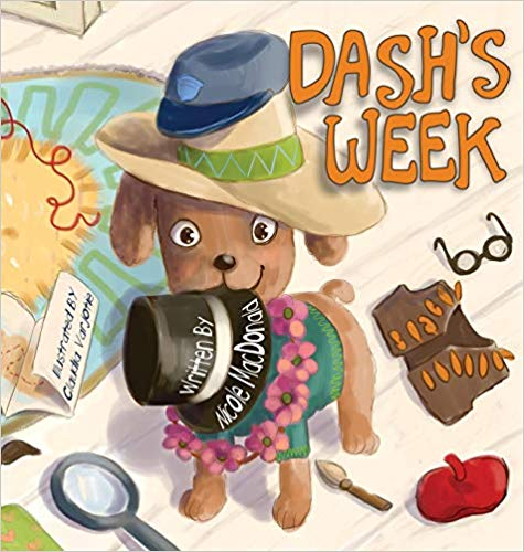 DASH'S WEEK HARD COVER BOOK
