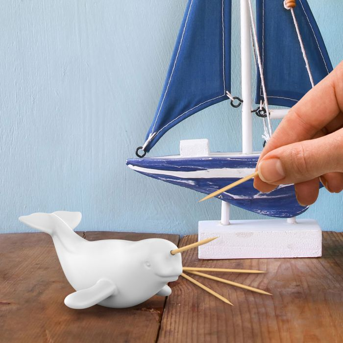 FRED NARWAL TOOTHPICK HOLDER